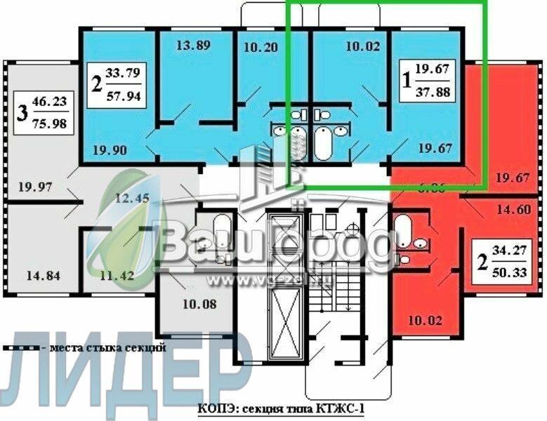 Планировки домов серии копэ. типовые планировки квартир.